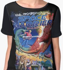 Space Harrier Women's Chiffon Top