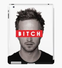 Jesse Pinkman - Bitch. iPad Case/Skin