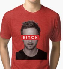 Jesse Pinkman - Bitch. Tri-blend T-Shirt