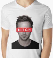 Jesse Pinkman - Bitch. Men's V-Neck T-Shirt