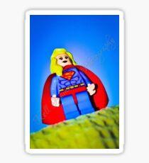 Super girl! Sticker