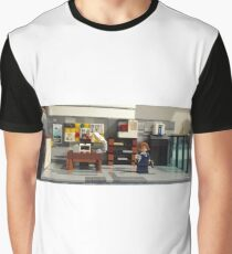 Nobody down here but the FBI's most unwanted! Graphic T-Shirt