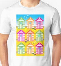 SUMMER BEACH HUTS T-Shirt