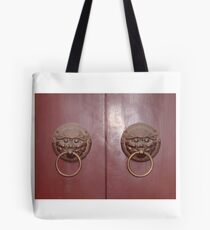 Chinese Gate Tote Bag