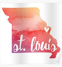 St. Louis, Missouri Poster