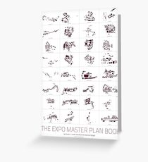 The Expo Master Plan Book - Version 2 Greeting Card