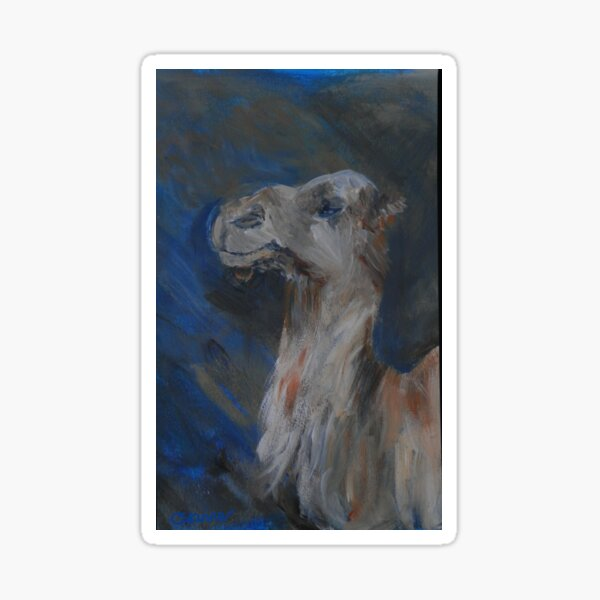 Happy Camel Sticker