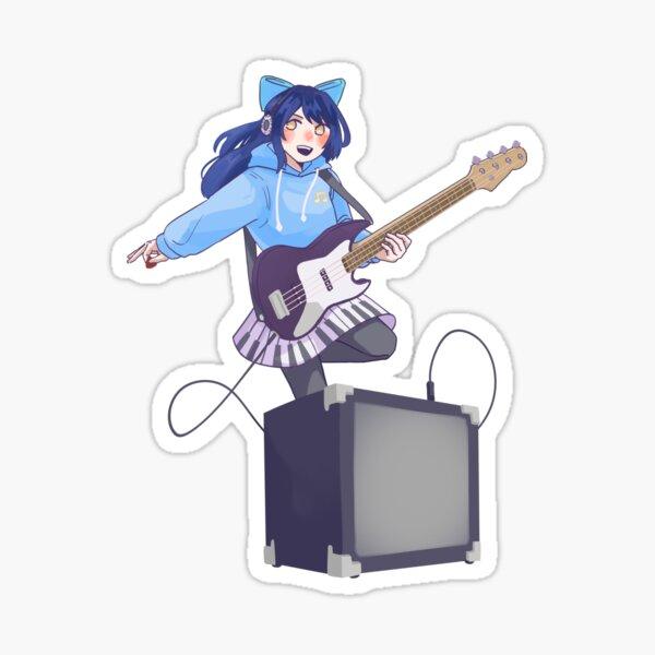 Bass Annie Sticker