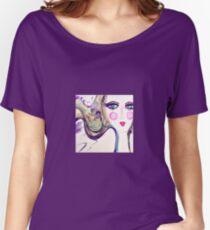 Girl Purple Women's Relaxed Fit T-Shirt