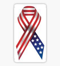 American Ribbon Sticker