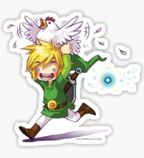 Cucco Run! - Legend of Zelda Sticker