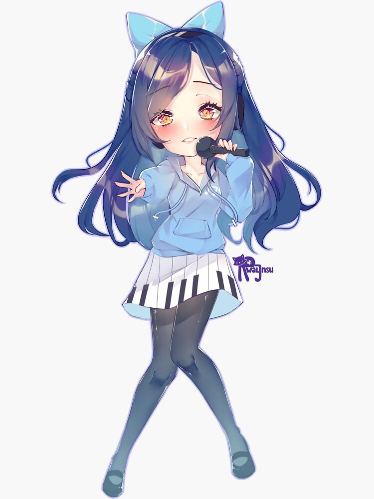 Vocalist Annie by uwanimusic