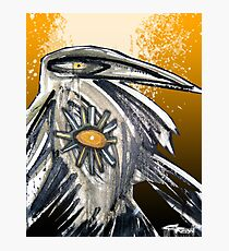 the crow Photographic Print