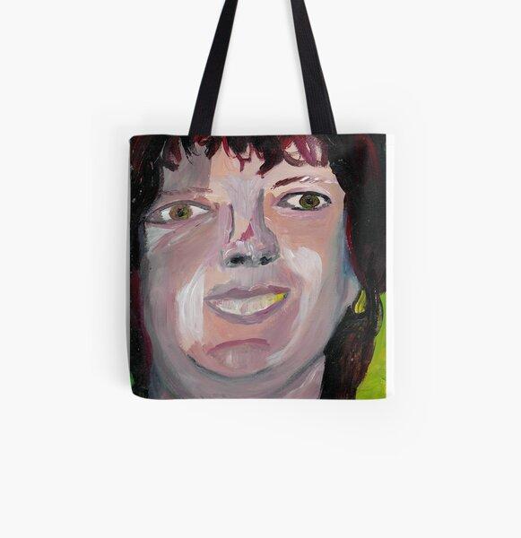 Portrait 4 All Over Print Tote Bag