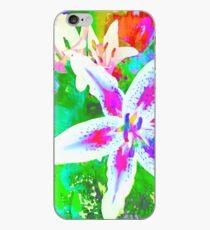 Watercolor Flower numero quatro iPhone Case