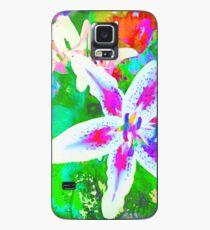 Watercolor Flower numero quatro Case/Skin for Samsung Galaxy