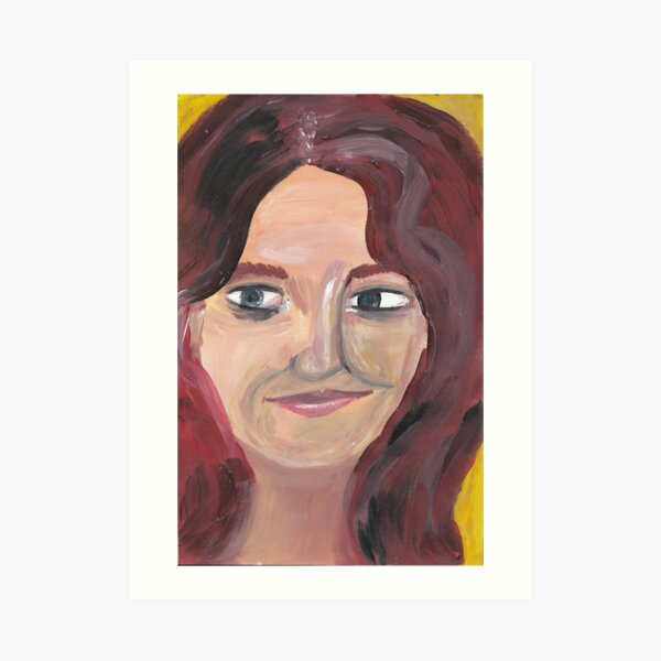 Portrait 5 Art Print