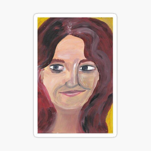 Portrait 5 Sticker