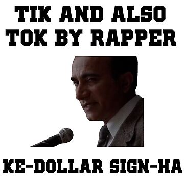 Tik and also Tok by rapper ke-dollar sign-ha by poppetini