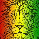 Rasta Lion numero uno by eltdesigns