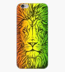 Rasta Lion numero uno iPhone Case