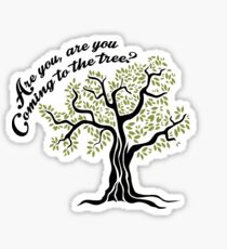 Hunger Games Hanging Tree Sticker