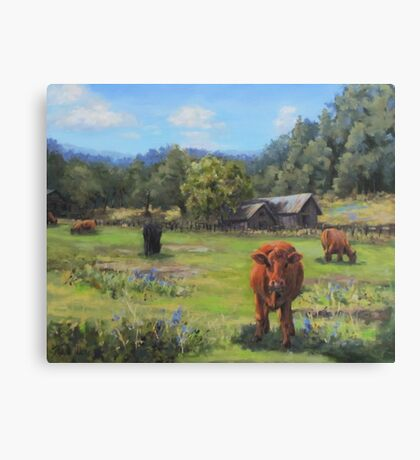 Afternoon Snack Canvas Print