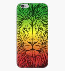 Rasta Lion numero dos iPhone Case