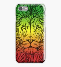 Rasta Lion numero dos iPhone Case/Skin