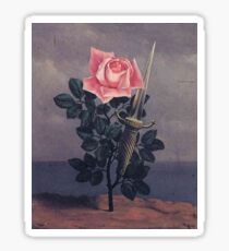 Magritte - Blow To The Heart Sticker