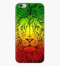 Rasta Lion numero tres iPhone Case