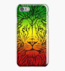 Rasta Lion numero tres iPhone Case/Skin