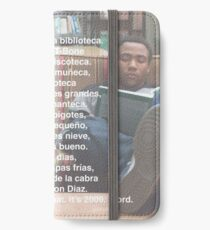 Spanish 101 Rap- Community iPhone Wallet/Case/Skin