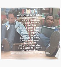 Spanish 101 Rap- Community Poster