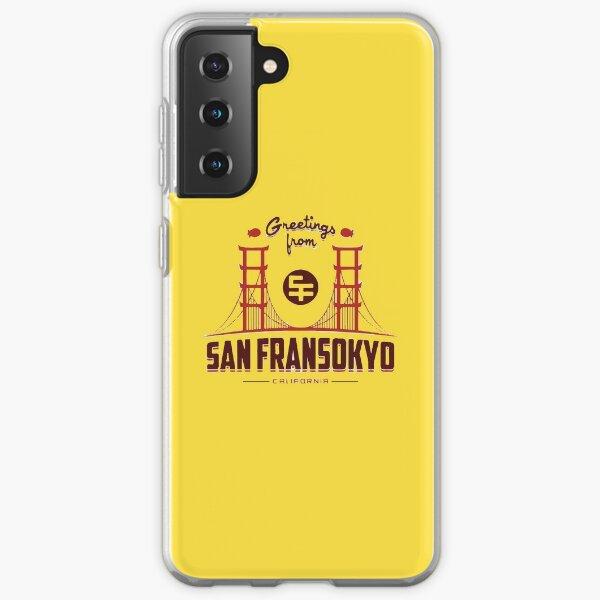 Big Hero 6: San Fransokyo Samsung Galaxy Soft Case
