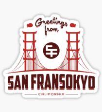 Big Hero 6: San Fransokyo Sticker