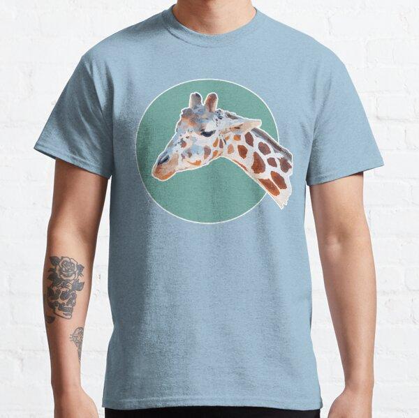 Amazing Animals: Cute Moody Giraffe Face Classic T-Shirt