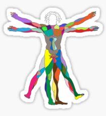 Vitruviano Sticker