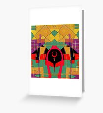 Abstract pattern art Greeting Card