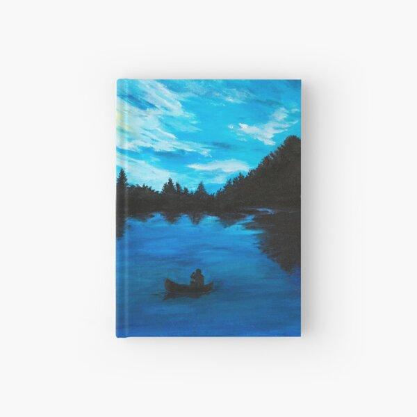 Midnight Canoe Hardcover Journal