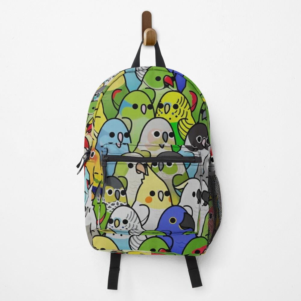 Too Many Birds! Bird Squad 1 Backpack