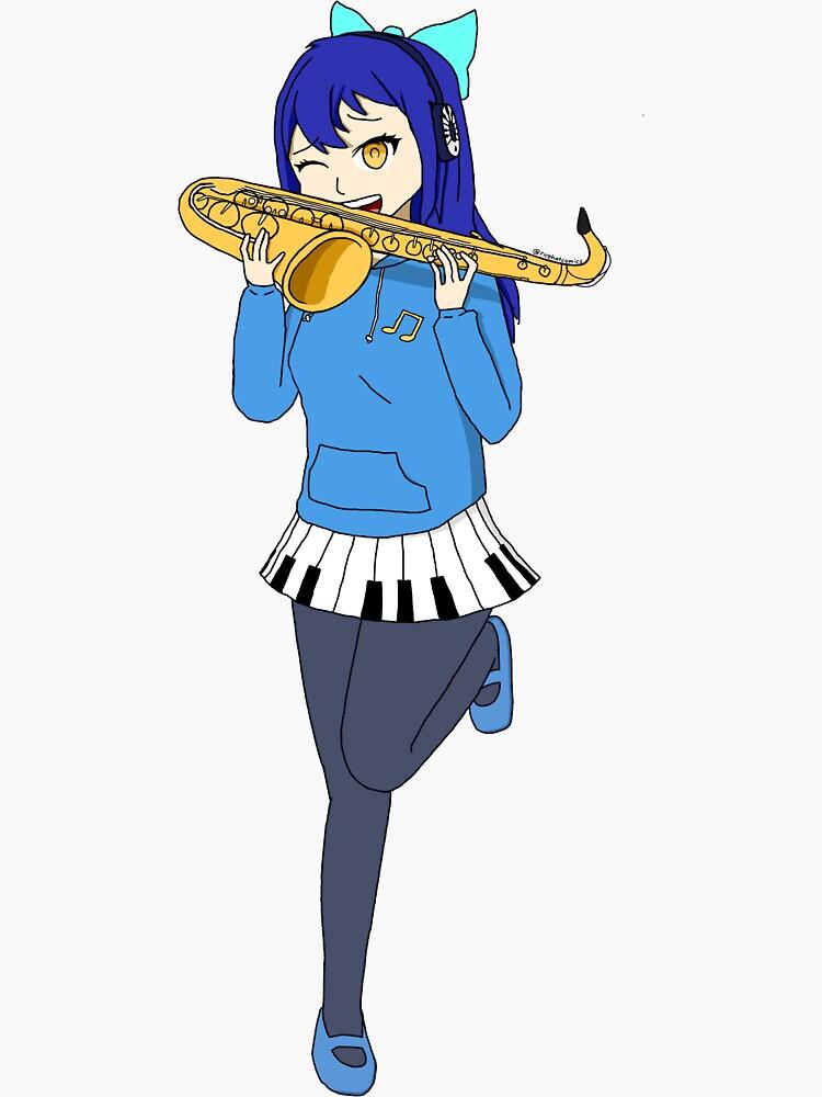 Saxophone Annie by uwanimusic