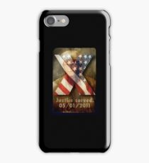 Justice Served. iPhone Case/Skin
