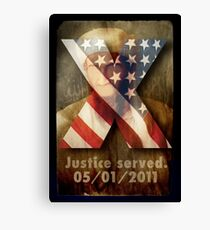 Justice Served. Canvas Print