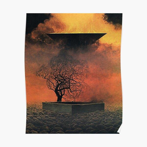 Untitled, by Zdzisław Beksiński Poster