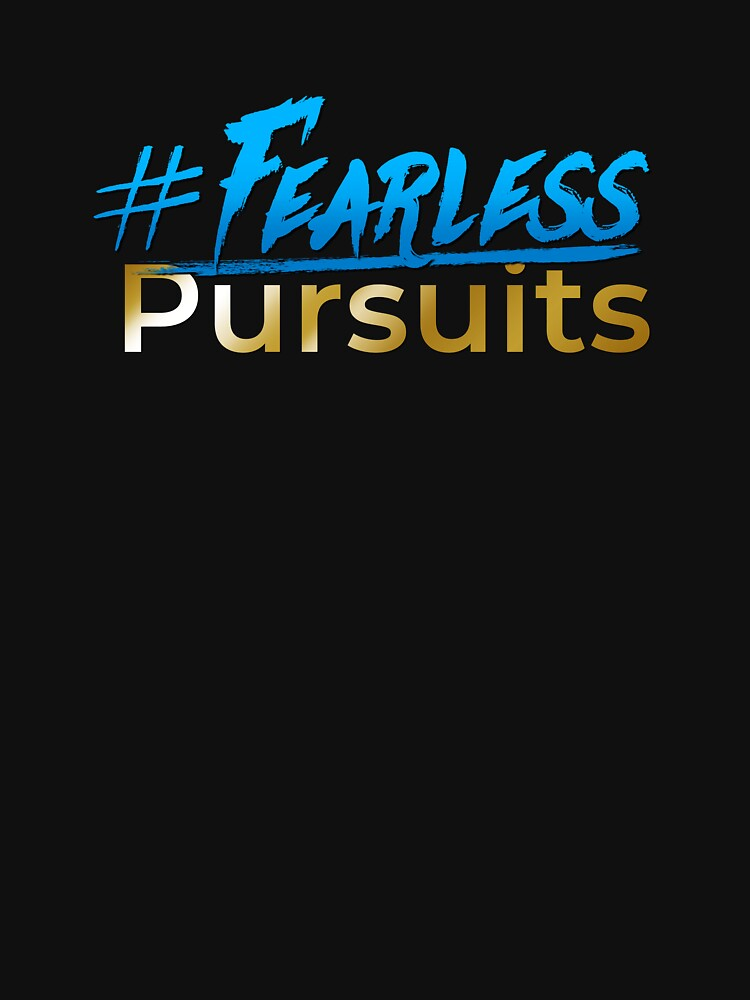 #Fearless Pursuits logo by wethefearless