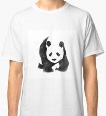 """""""Panda-monium"""" Watercolor Panda Classic T-Shirt"""