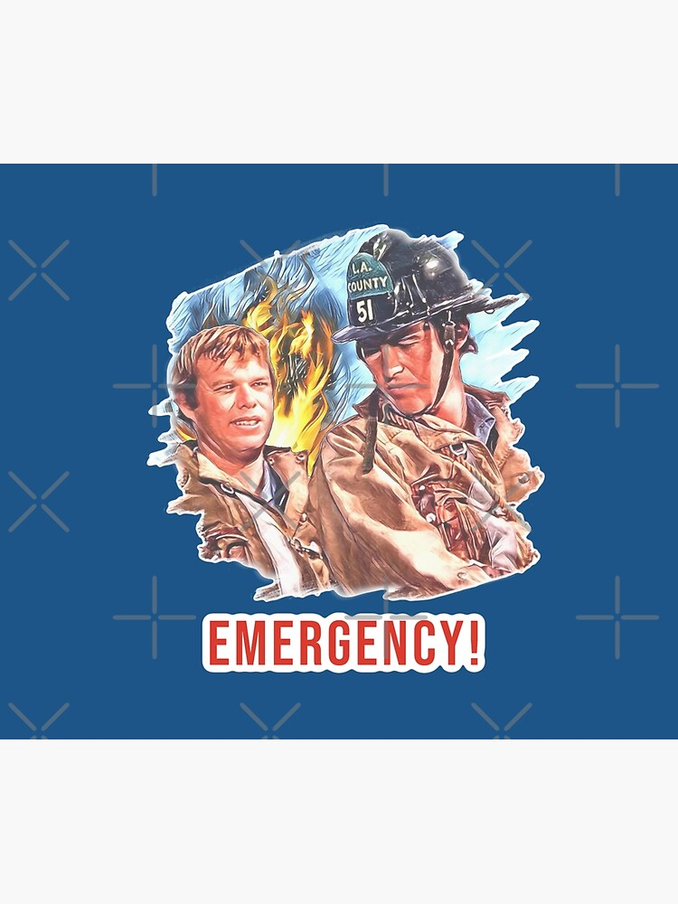 Emergency TV Show DeSoto and Gage by DNiceGirl
