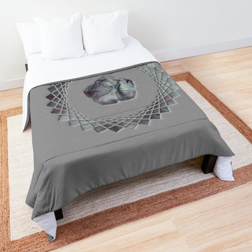 Tranquility; cherry blossom Comforter