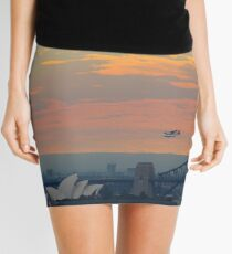 Plane - Sydney Harbour Mini Skirt